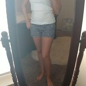 Super cute navy & white shorts